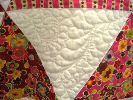 Bev's quilt triangle number 2