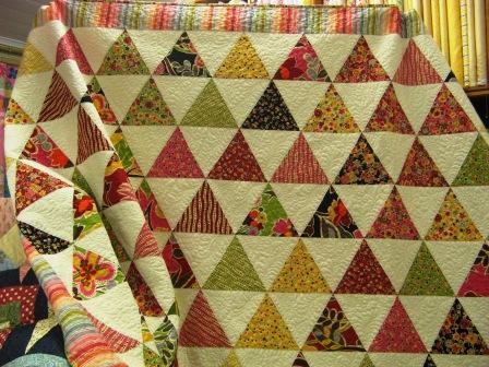 Bev's Triangle Quilt