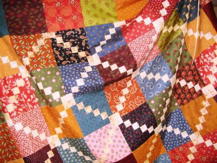 Kim Diehl quilt - high cotton
