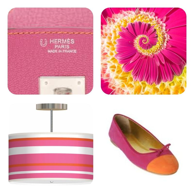 Pink & Orange Tile
