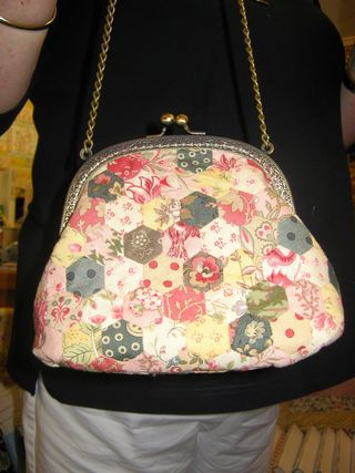 Hexagon purse - Perri