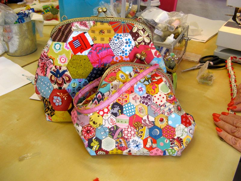 Hexagon Purses - Kay