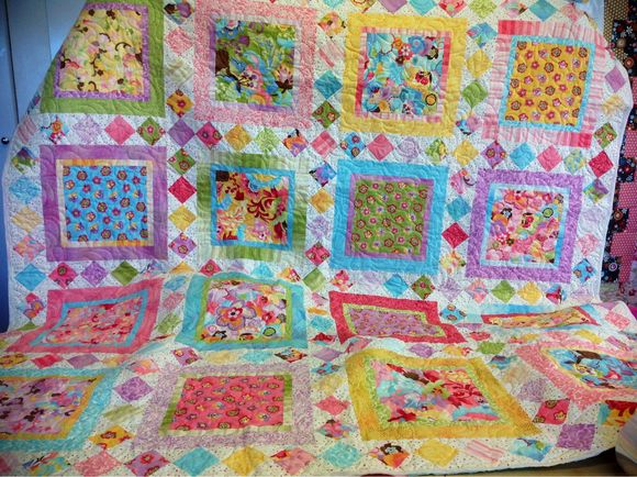 Customers cook up a quilt storm