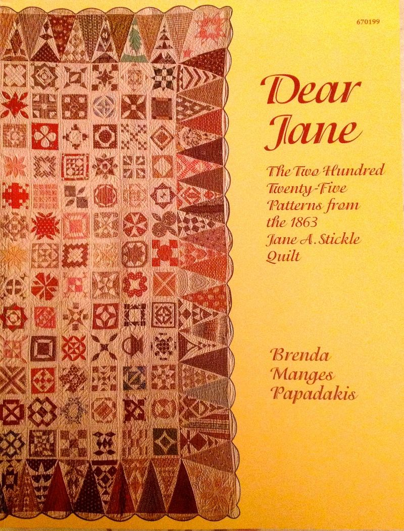 Dear jane book