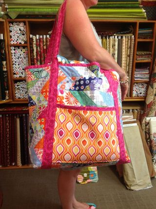 Take it all Tote Front