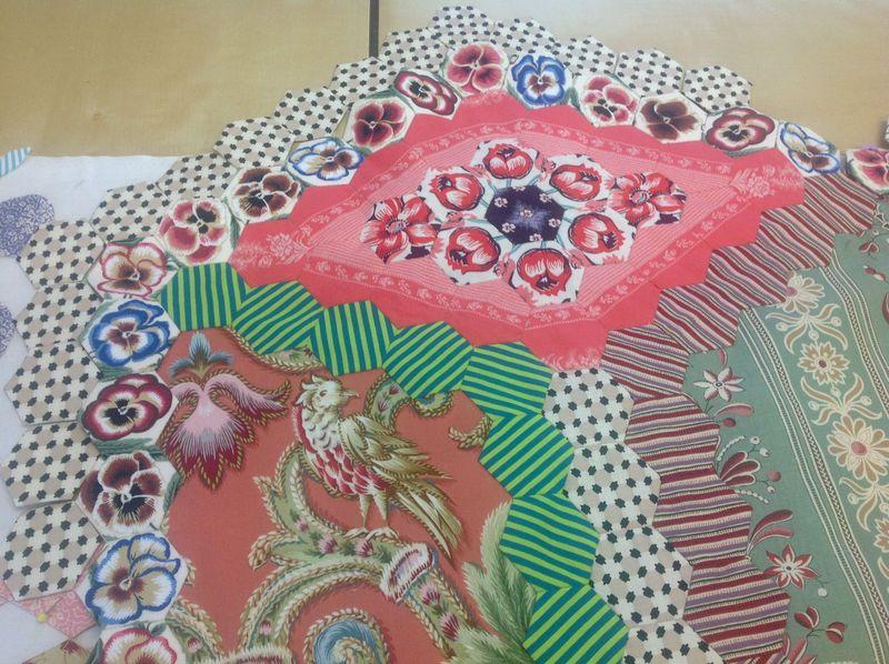 Next border for Jennys quilt