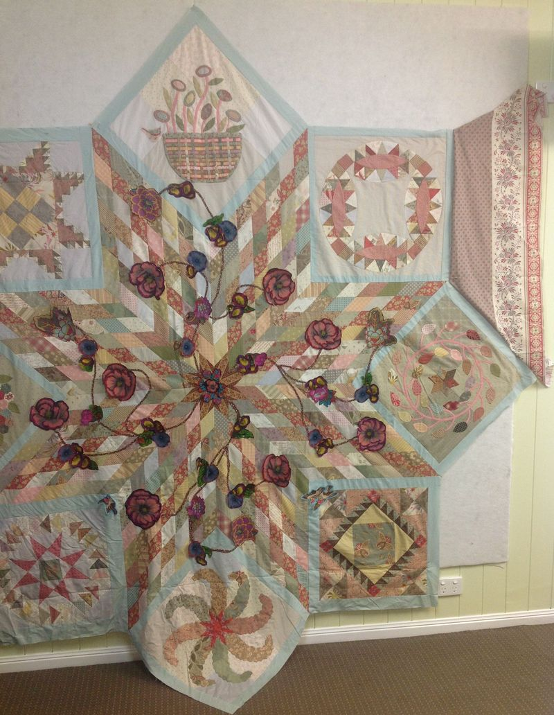 Sue Mystery Quilt Borders