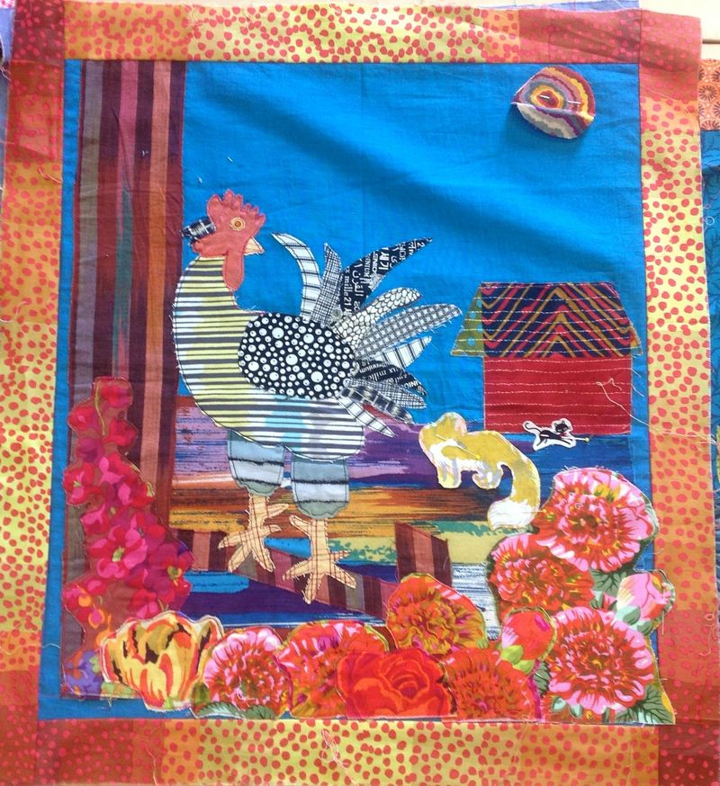 Sue Picture book quilt 2