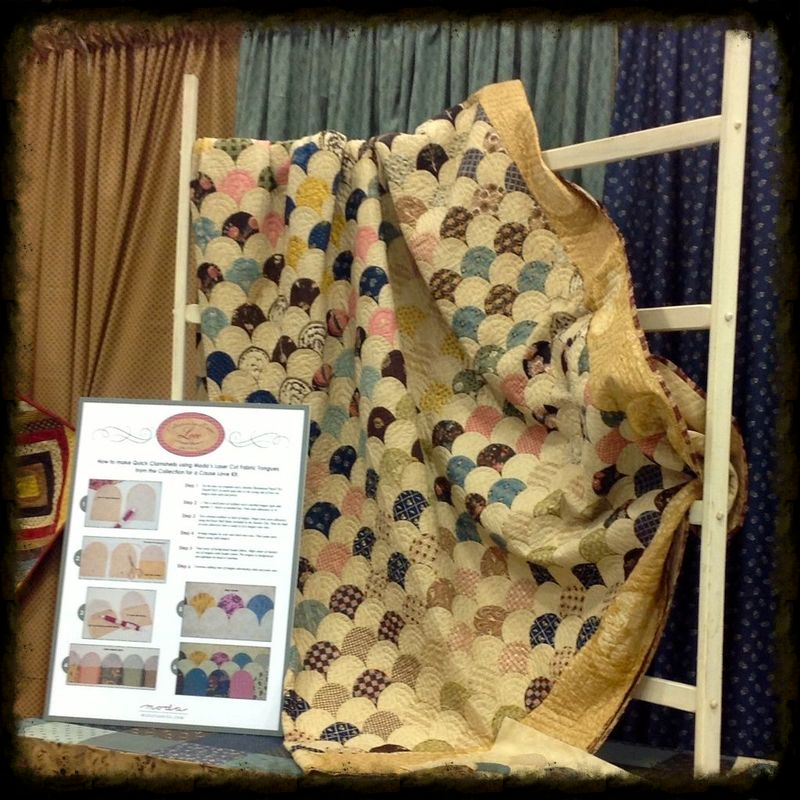 Original clamshell quilt