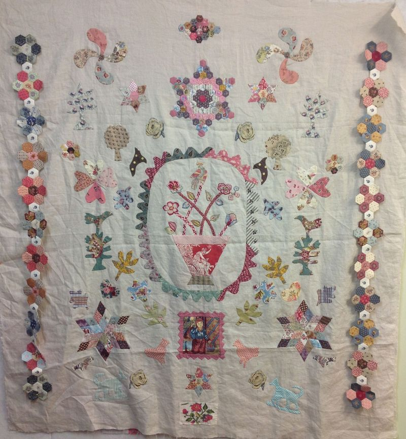 Lisa baby quilt