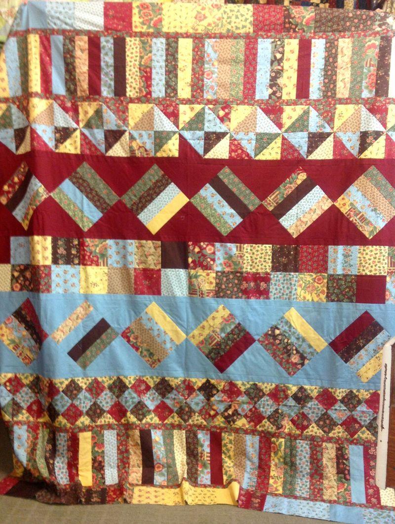 Amanda Row by Row quilt