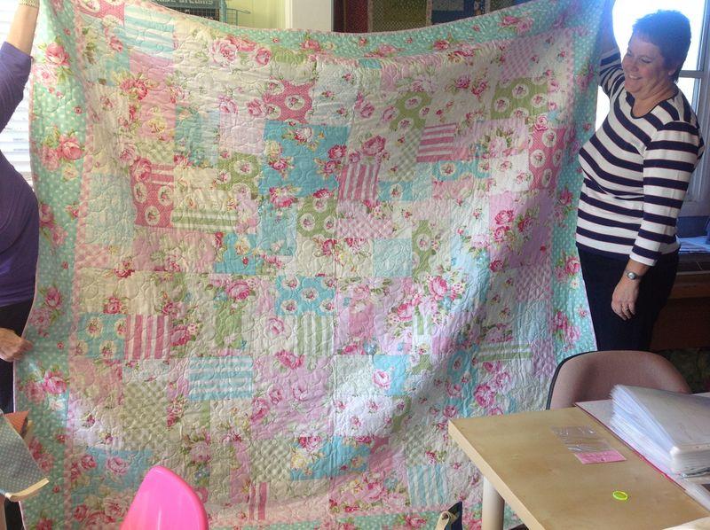 Amanda rotary quilt