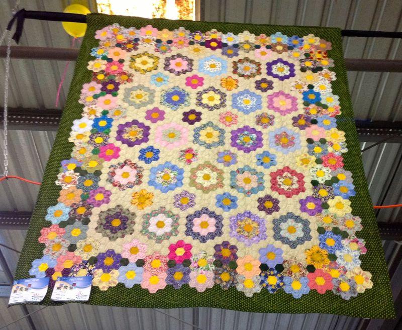 Twba show hexagons