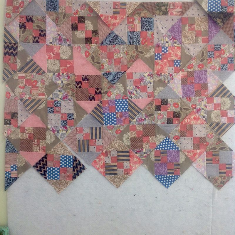 Julie scrappy quilt