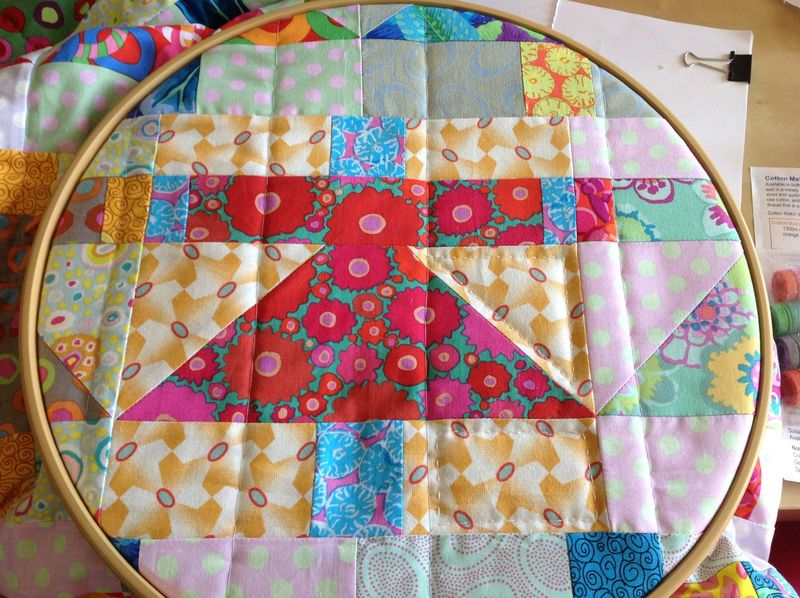 Hand quilting dollies