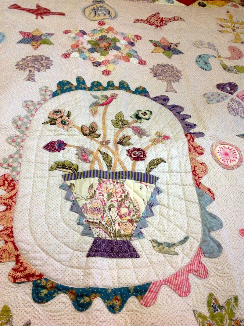 Leona baby quilt 3