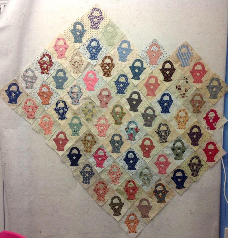 Lisa basket quilt