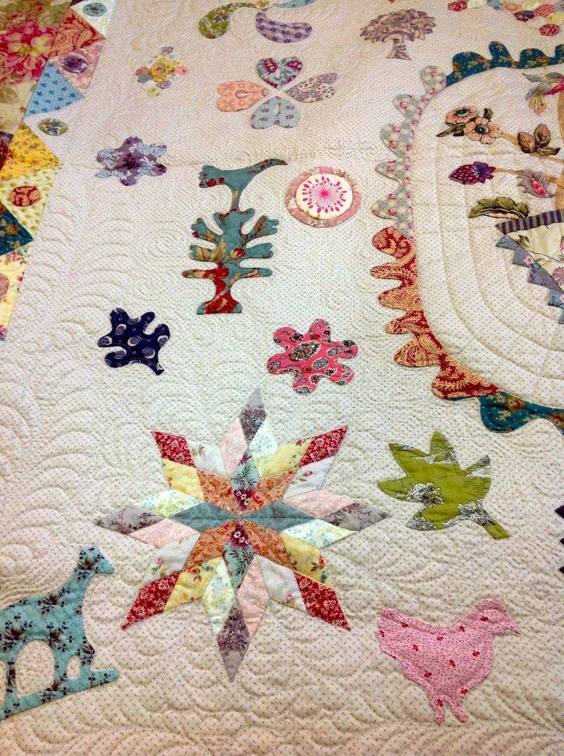 Leona baby quilt 2
