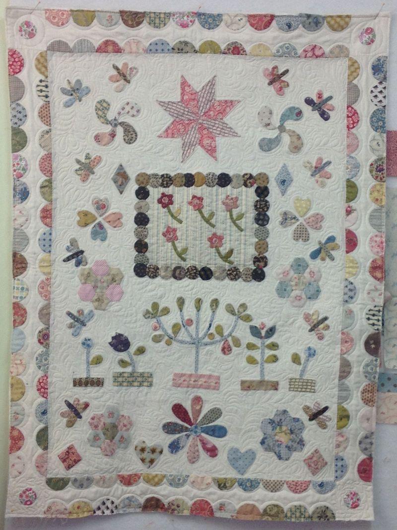 Orchard crib quilt
